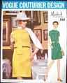 Michael of London Vogue Couturier Design Pattern 2187 Bust 34