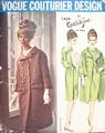 Galitzine Vogue Couturier Evening Dress, Coat Pattern Bust 34